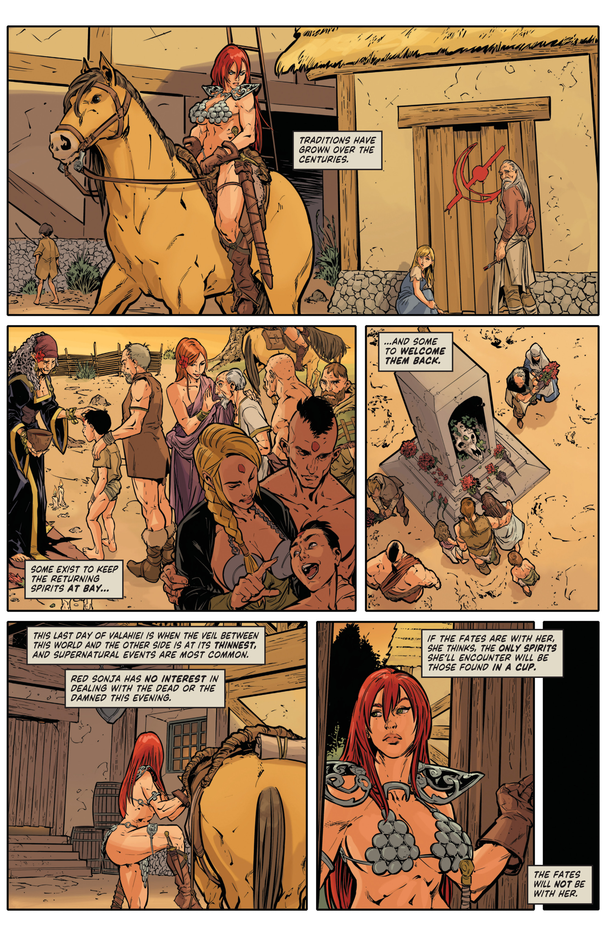 Red Sonja Halloween Special 003