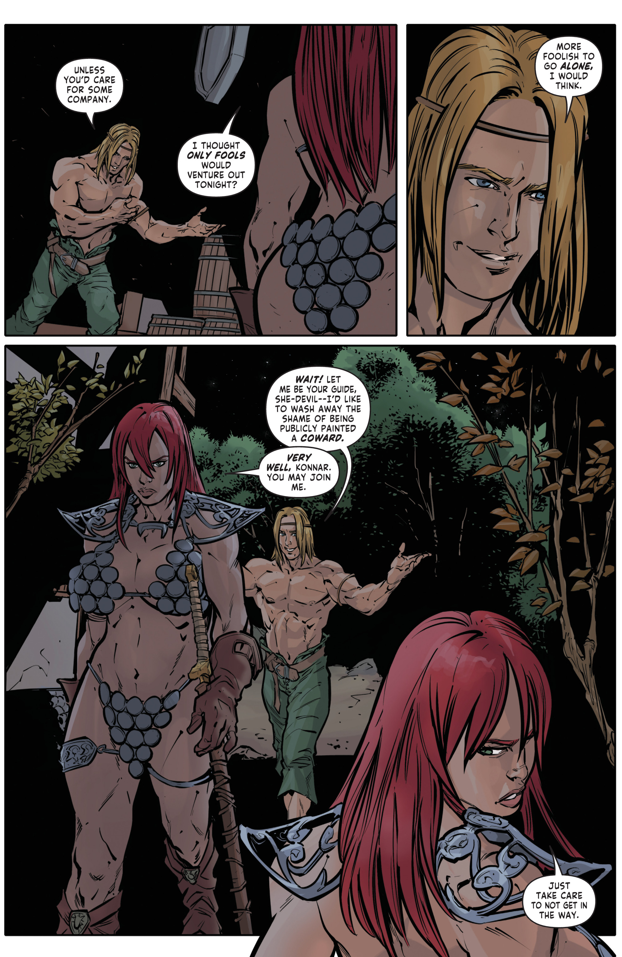 Red Sonja Halloween Special 008