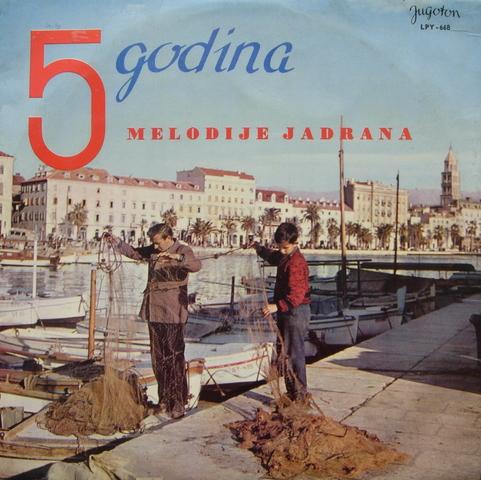 Melodija Jadrana Split 1960 1964