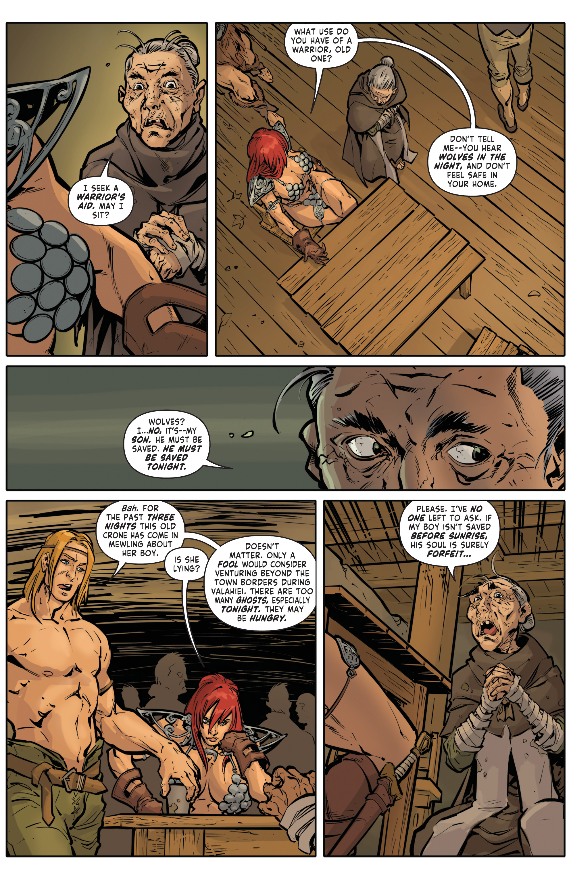Red Sonja Halloween Special 005