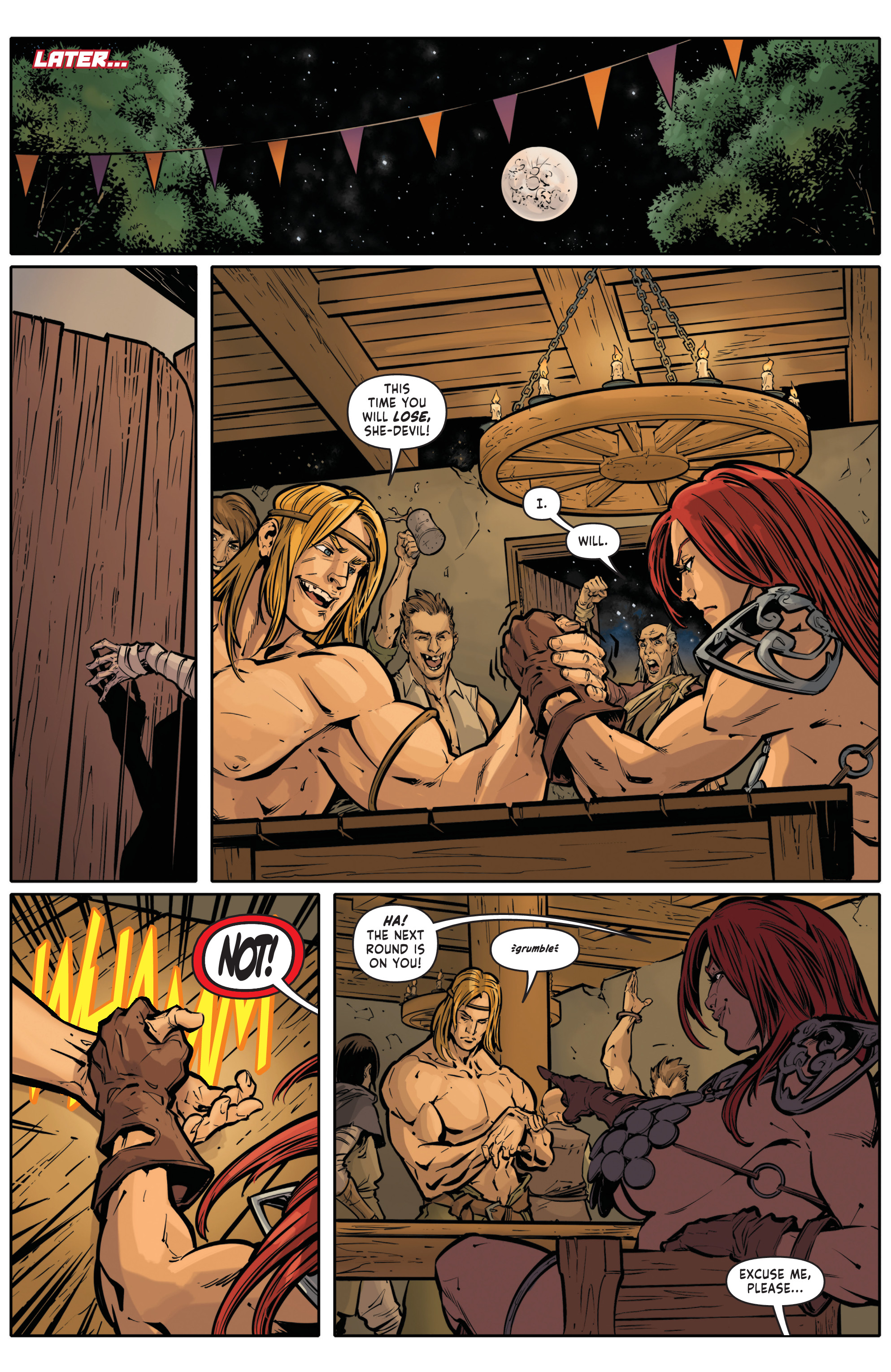 Red Sonja Halloween Special 004