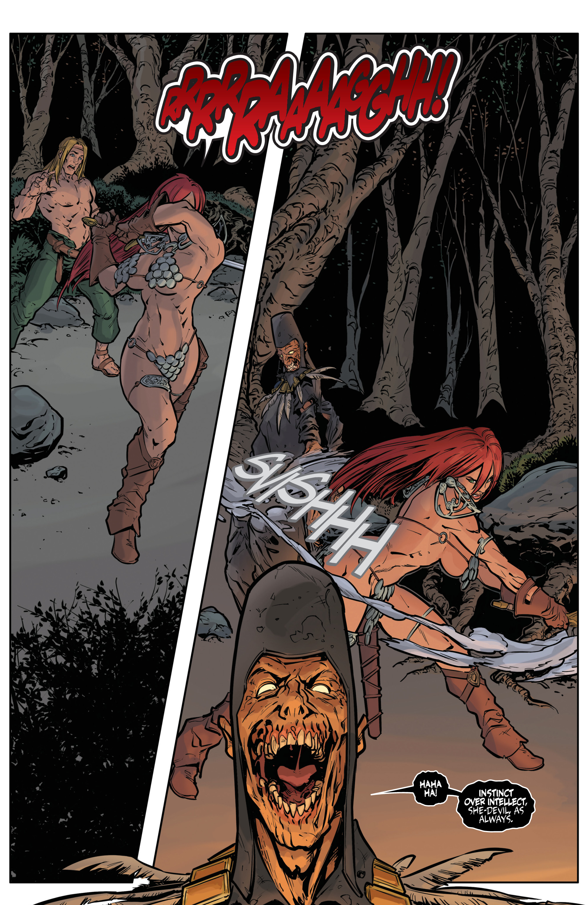 Red Sonja Halloween Special 012