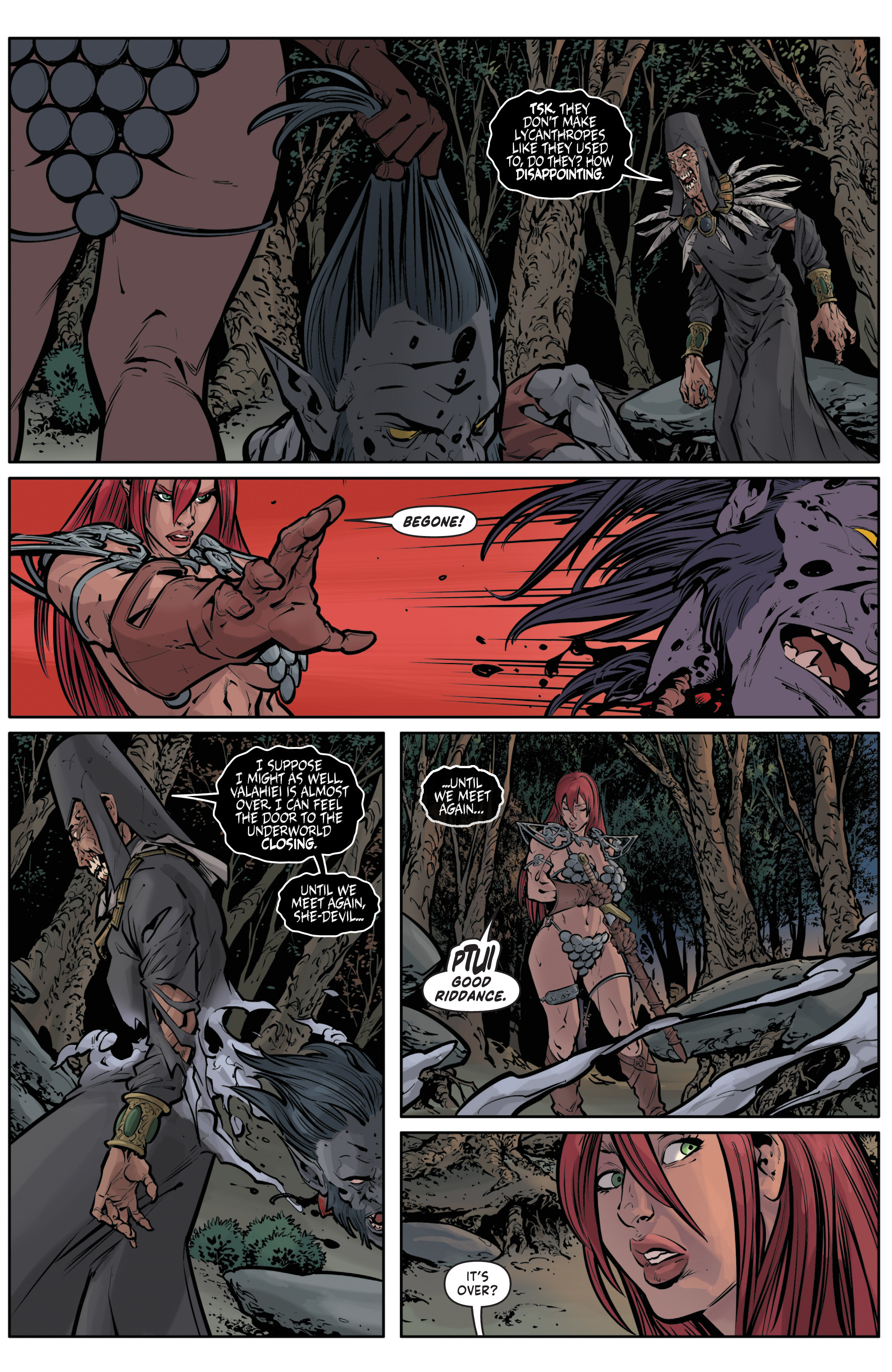 Red Sonja Halloween Special 019