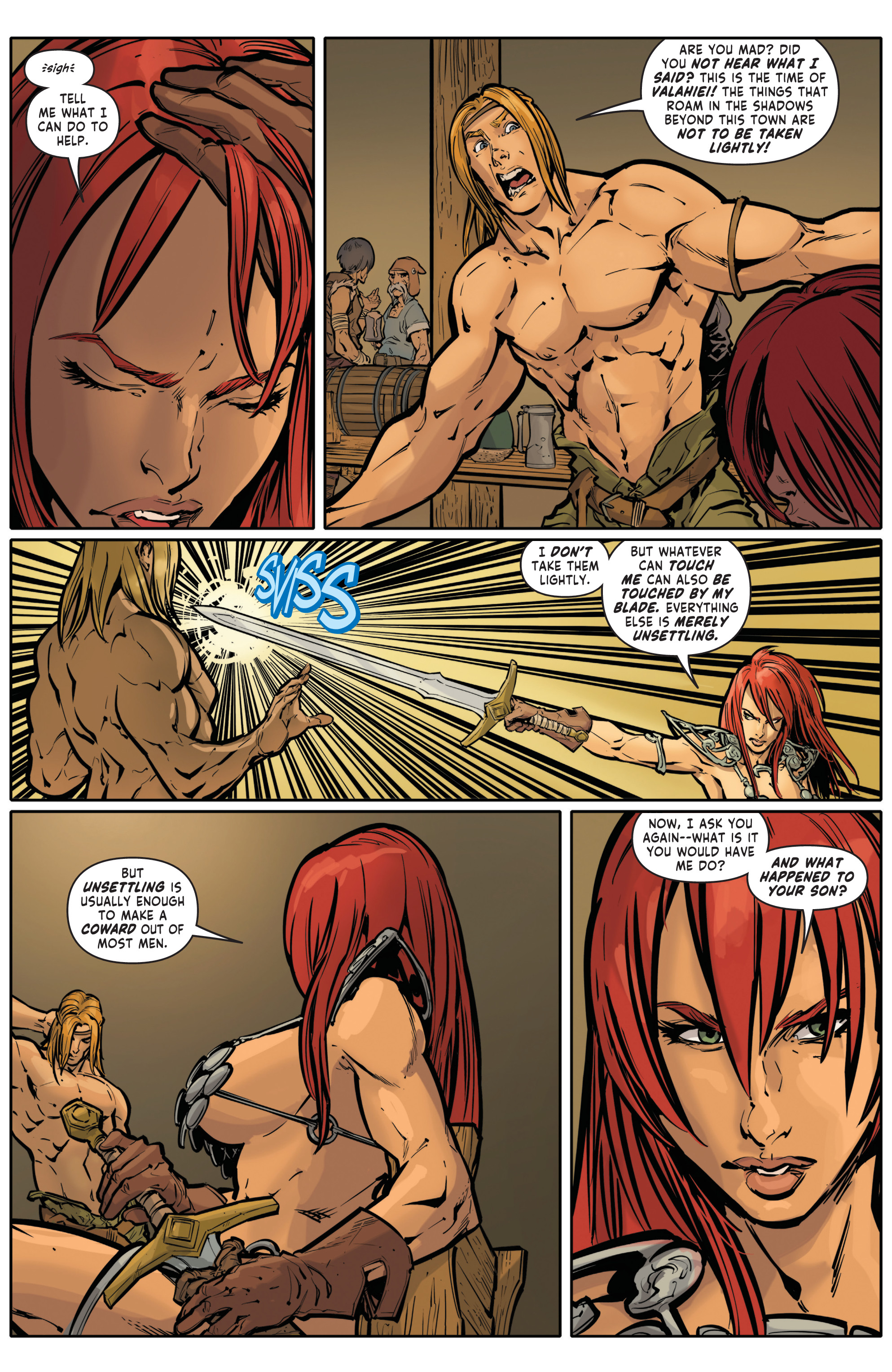 Red Sonja Halloween Special 006