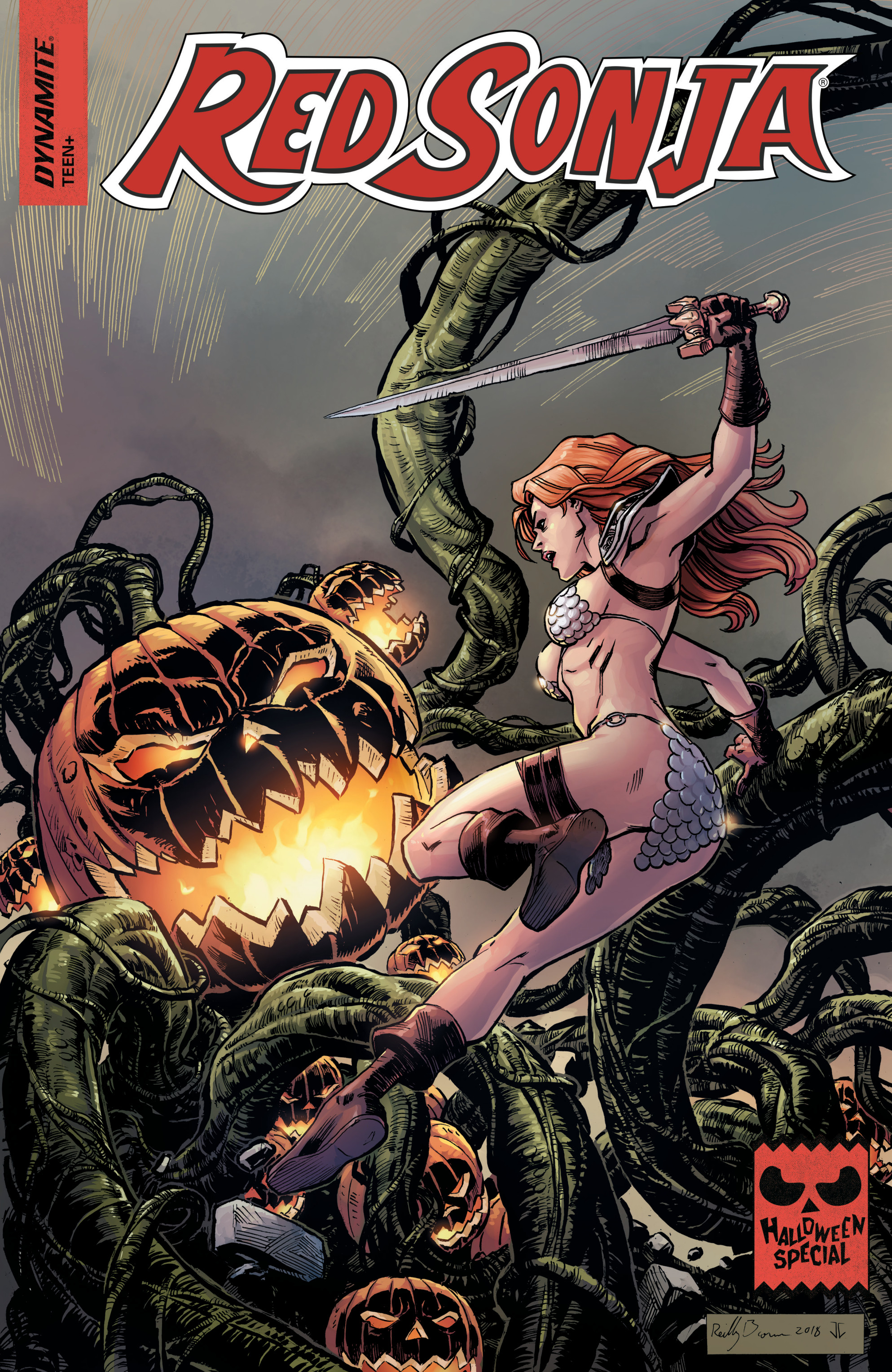 Red Sonja Halloween Special 000