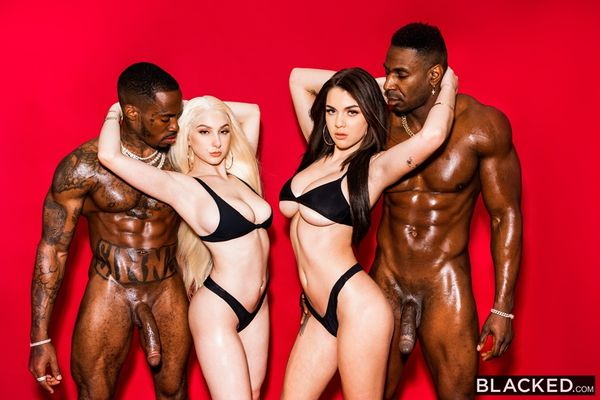 Blacked - Gabbie Carter, Skylar Vox - Take The Shot [SD 480p]
