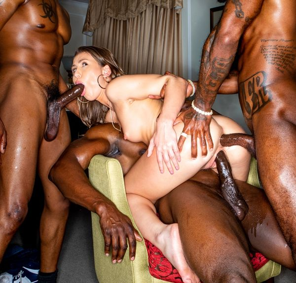 BlackedRaw - Paige Owens - First Time X3 [SD 480p]